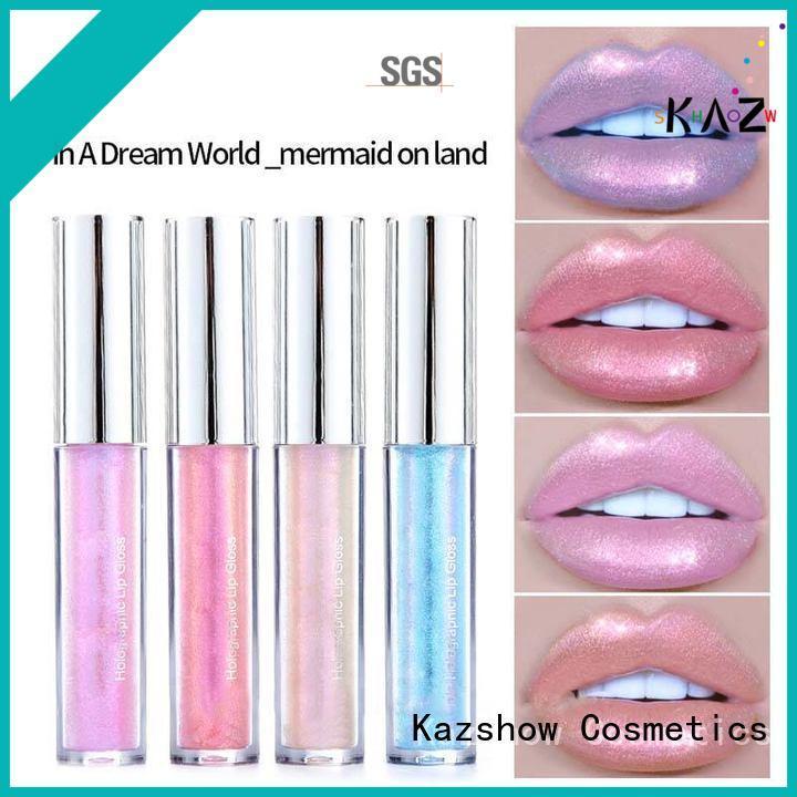 Kazshow sparkly lip gloss china online shopping sites for lip