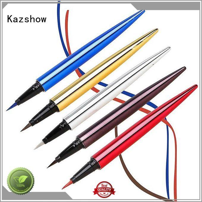 Kazshow popular liquid eyeliner pen for ladies