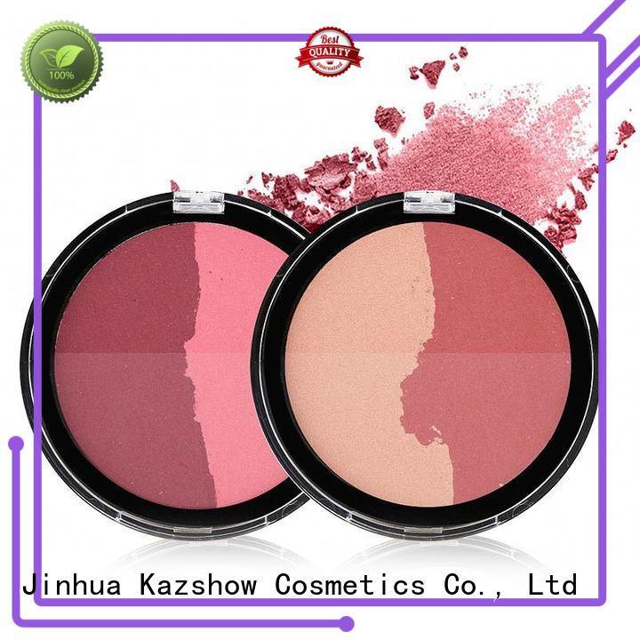 Kazshow fashionable color blush for highlight makeup