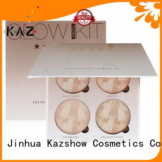 Kazshow makeup highlighter palette wholesale online shopping for face makeup