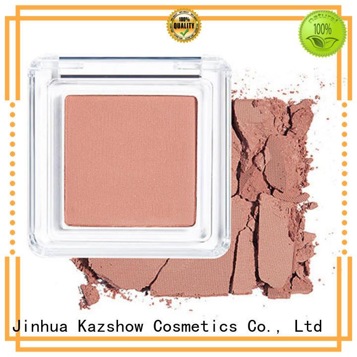 Kazshow natural shimmer blush factory price for highlight makeup