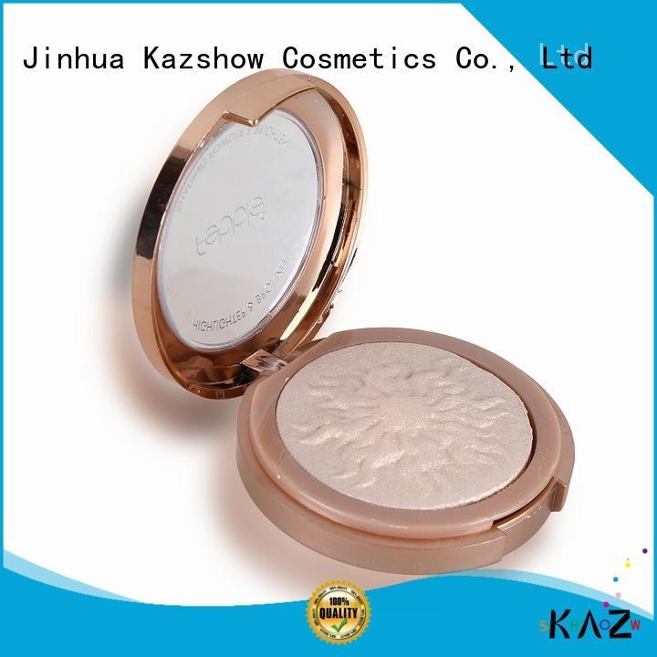 Kazshow nice design sparkly highlighter for young women