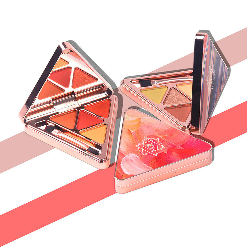 Triangle time flowing eyeshadow palette