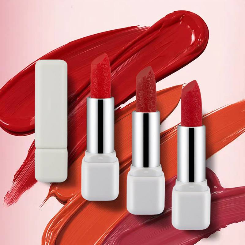 Carve Patterns Waterproof Lipstick