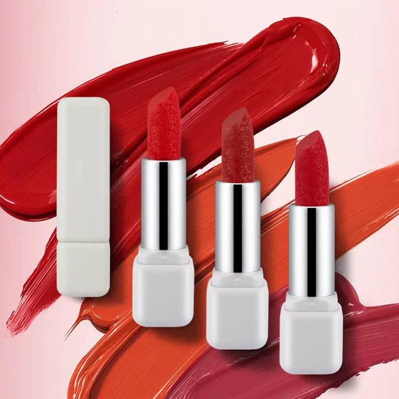 Carve Patterns Waterproof Lipstick