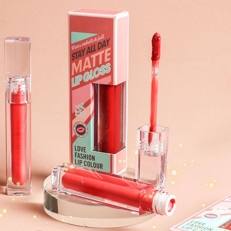 Transparent Tube Matte Lipgloss