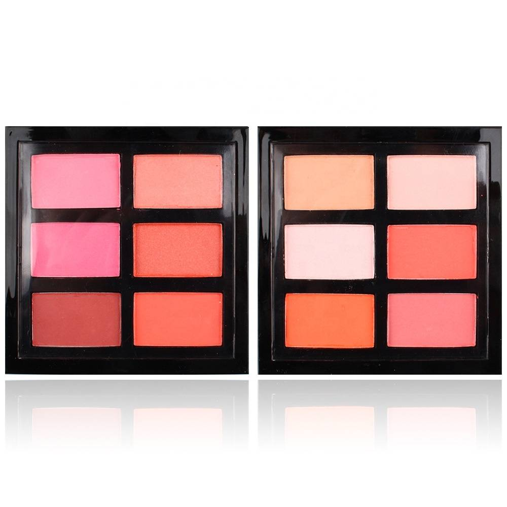 6 Colors Matte Blush
