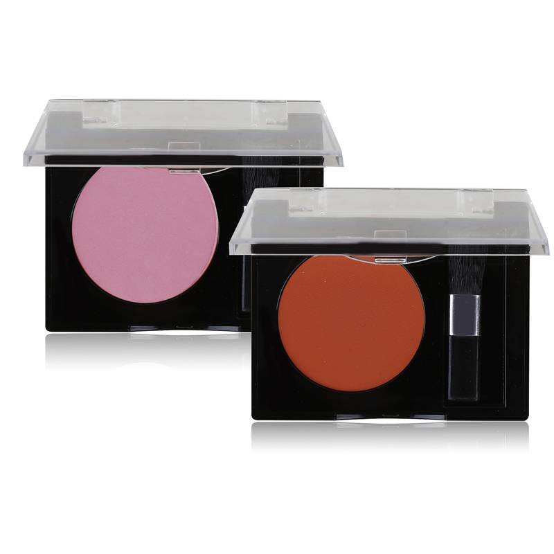 Single Color Blusher With Brush