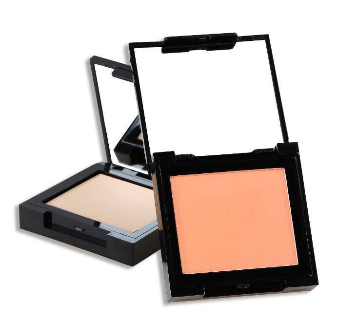 Single Color Compact Powder With Mirror