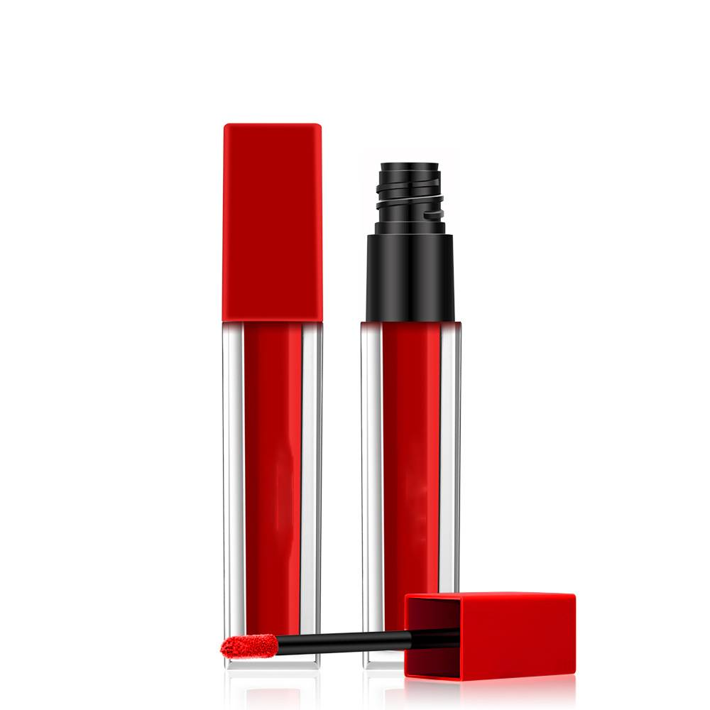 Square Transparent Matte Lipgloss