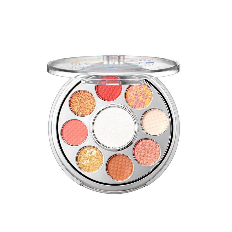 New Cosmetics 9 Color Eyeshadow Palette Oem brand eyeshadow palette