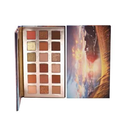 Hot Selling Multi Colors Professional Waterproof Cosmetic Eyeshadow Palette Private Label Eyeshadow Palette