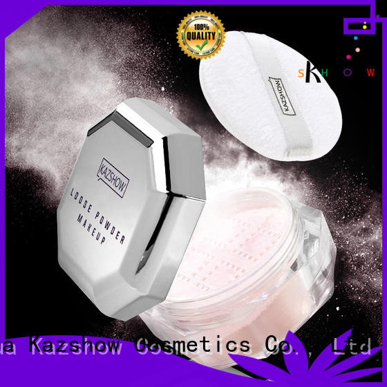 Kazshow face loose powder buy products from china for oil skin