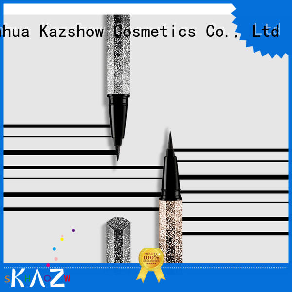 Kazshow glitter waterproof eye pencil promotion for eyes makeup