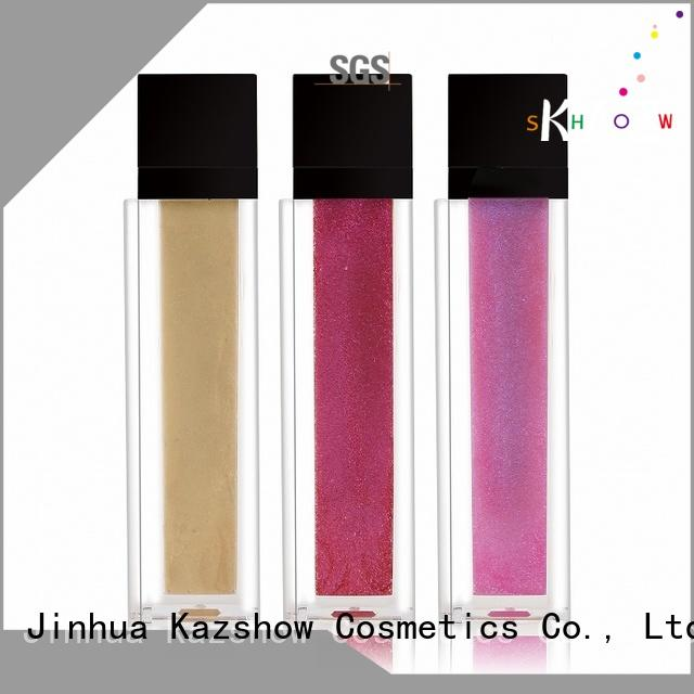 Kazshow sparkle lip gloss advanced technology for lip makeup