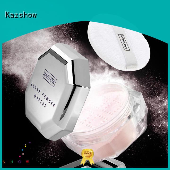 Kazshow trendy loose powder wholesale online shopping for oil skin