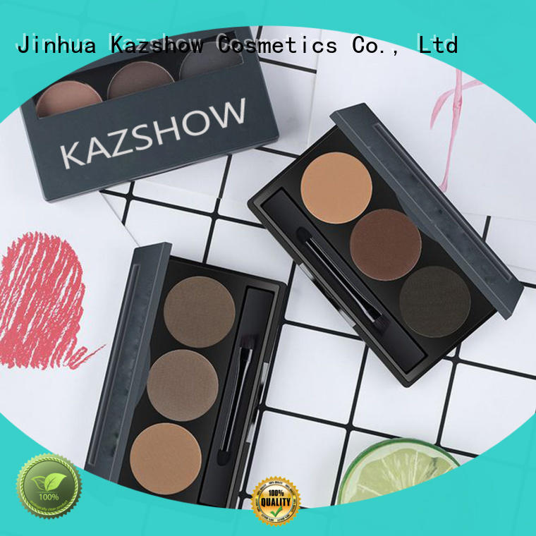Kazshow waterproof eyebrow powder wholesale products to sell for eyes makeup