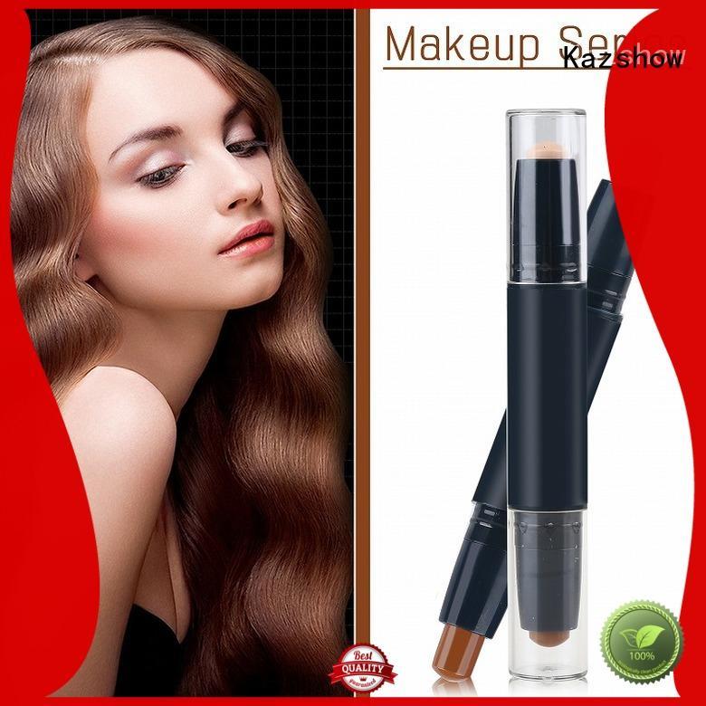Kazshow waterproof best cream concealer for face makeup