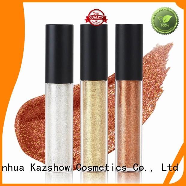 Kazshow waterproof liquid eyeshadow factory price for beauty