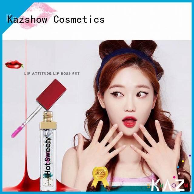 Kazshow lip gloss oil factory price for women