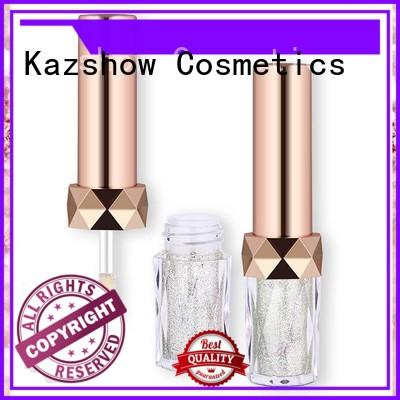 Kazshow liquid glitter eyeshadow factory price for eyes makeup