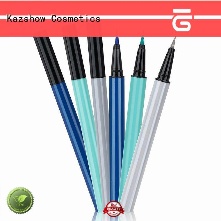 Kazshow glitter liquid liner pen for eyes makeup