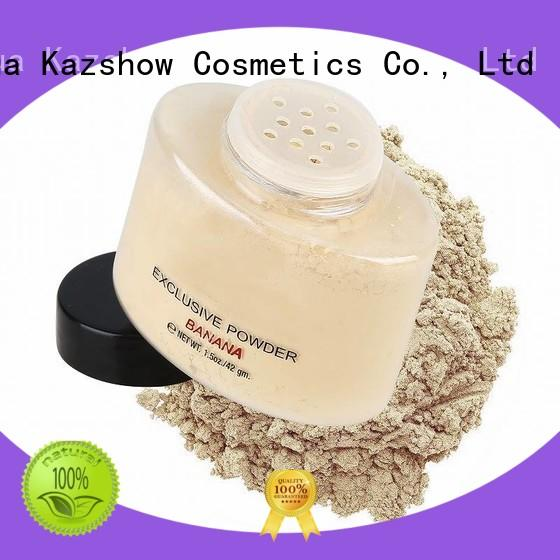 Kazshow mineral face powder directly price for oil skin