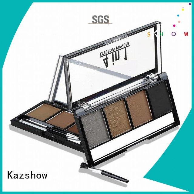 Kazshow Anti-smudge brow powder palette for young ladies