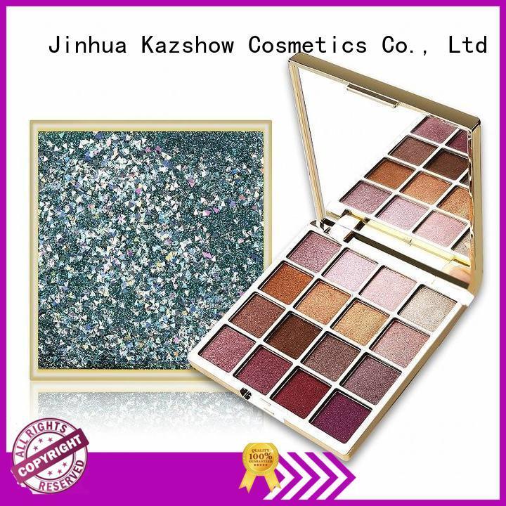 Kazshow various colors glitter eye makeup cheap wholesale for eyes makeup