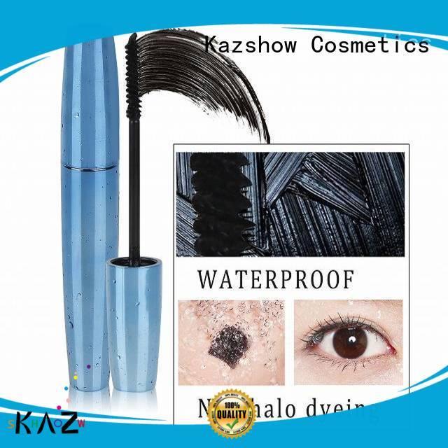 Kazshow long lasting 3d fiber mascara manufacturer for young ladies