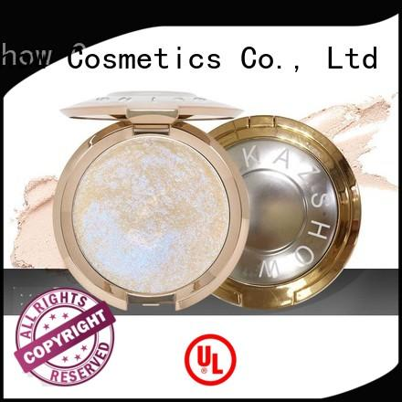 Kazshow Anti-smudge best powder highlighter directly price for young women