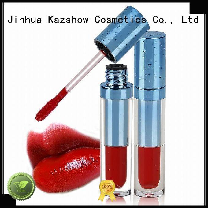Kazshow moisturizing matte lip gloss china online shopping sites for lip makeup