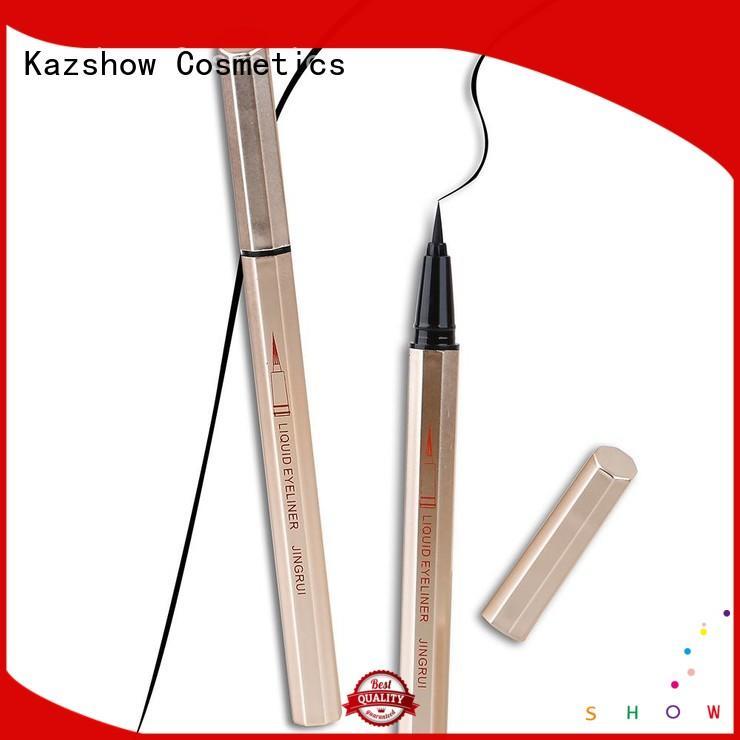 Kazshow best brown eyeliner pencil china factory for eyes makeup