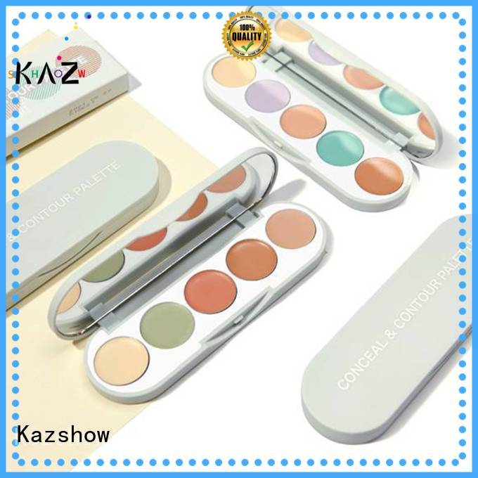 Kazshow makeup concealer palette directly sale for cosmetic