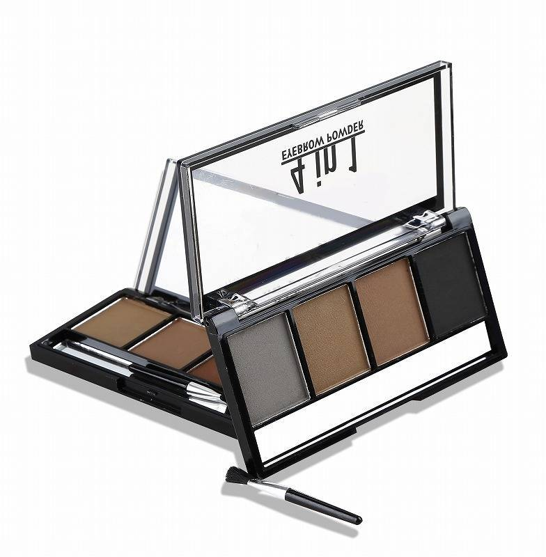 4 Color Waterproof Eyebrow Powder Palette