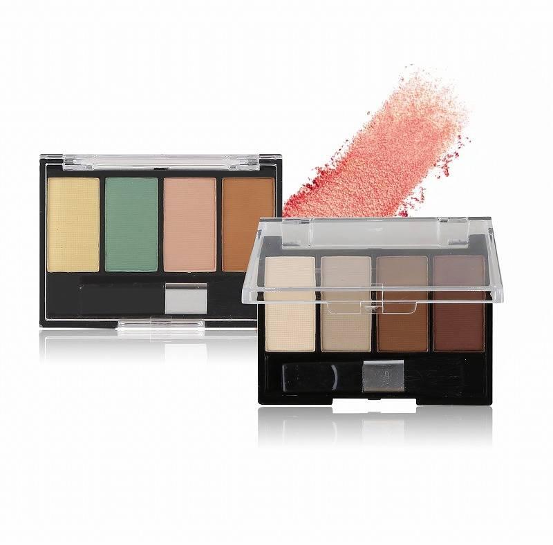 Kazshow waterproof pressed glitter eyeshadow company for women-1