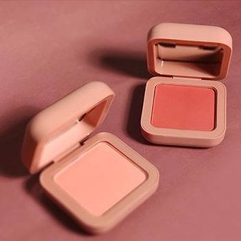 Macaron Natural Nude Makeup Single Color Blush