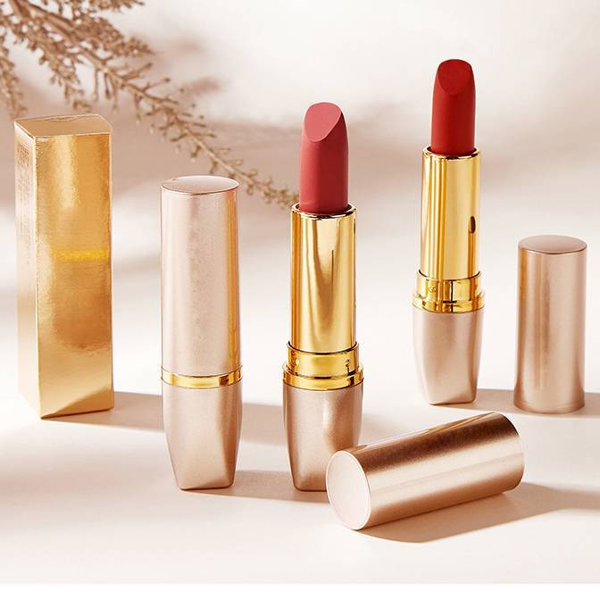 Lasting moisturizing matte lipstick