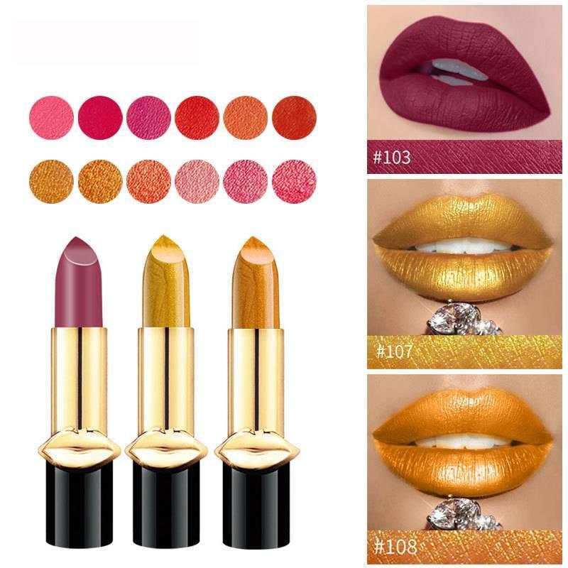 Mermaids Shiny Metallic Lipstick