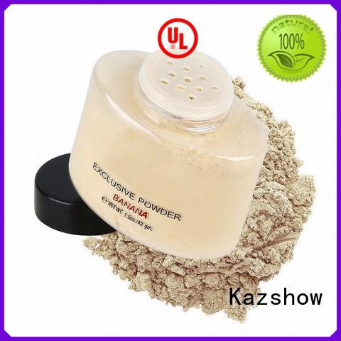 Kazshow best loose face powder buy products from china for oil skin
