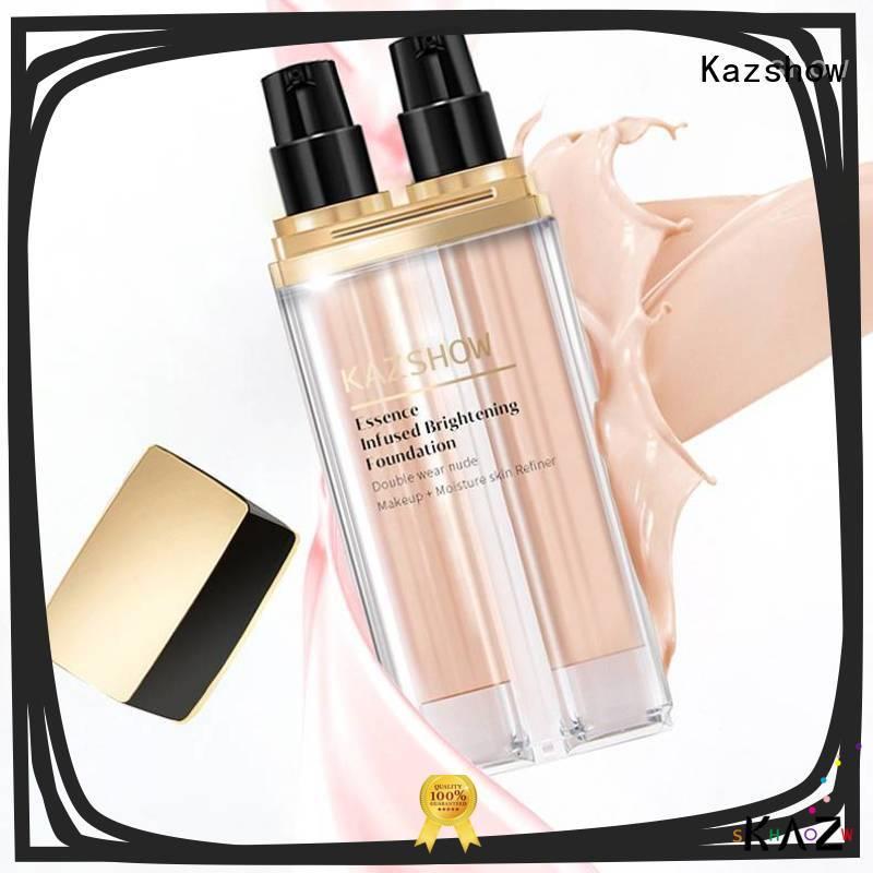 Kazshow silky moisturizing foundation promotion for face cosmetic