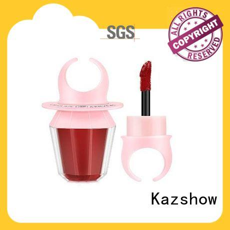 Kazshow light pink lip gloss advanced technology for lip