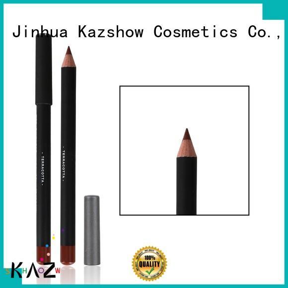 Kazshow popular waterproof eyeliner pencil promotion for ladies