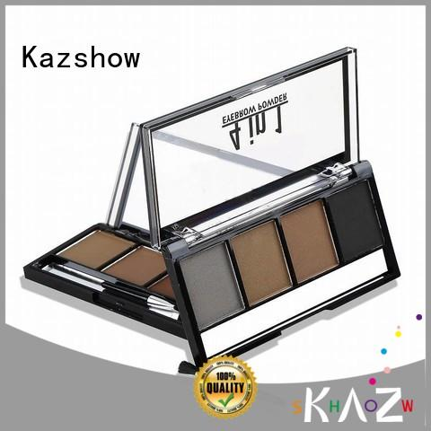 Kazshow long lasting eyebrow filler powder wholesale products to sell for young ladies