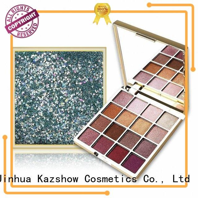 Kazshow shimmer eyeshadow palette cheap wholesale for women
