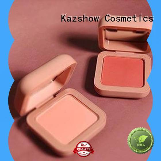 Kazshow blush cosmetics personalized for cheek