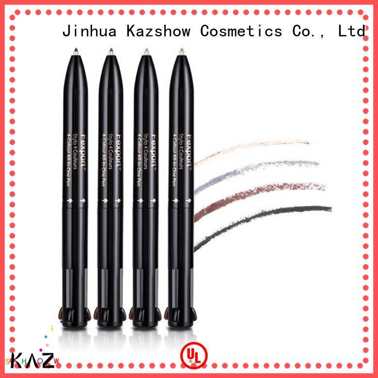 Kazshow felt eyebrow pen factory for business
