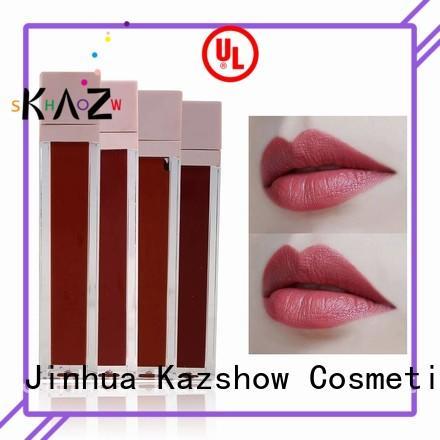 Kazshow non-stick natural lip gloss china online shopping sites for business