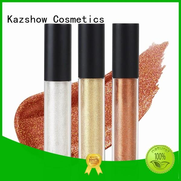 Kazshow liquid glitter eyeshadow with competitive price for eyes makeup