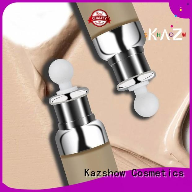 Kazshow waterproof natural foundation china factory for face cosmetic